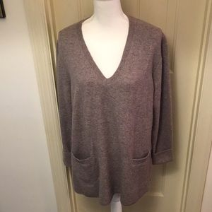 J. Crew V-Neck Tunic Sweater NWT